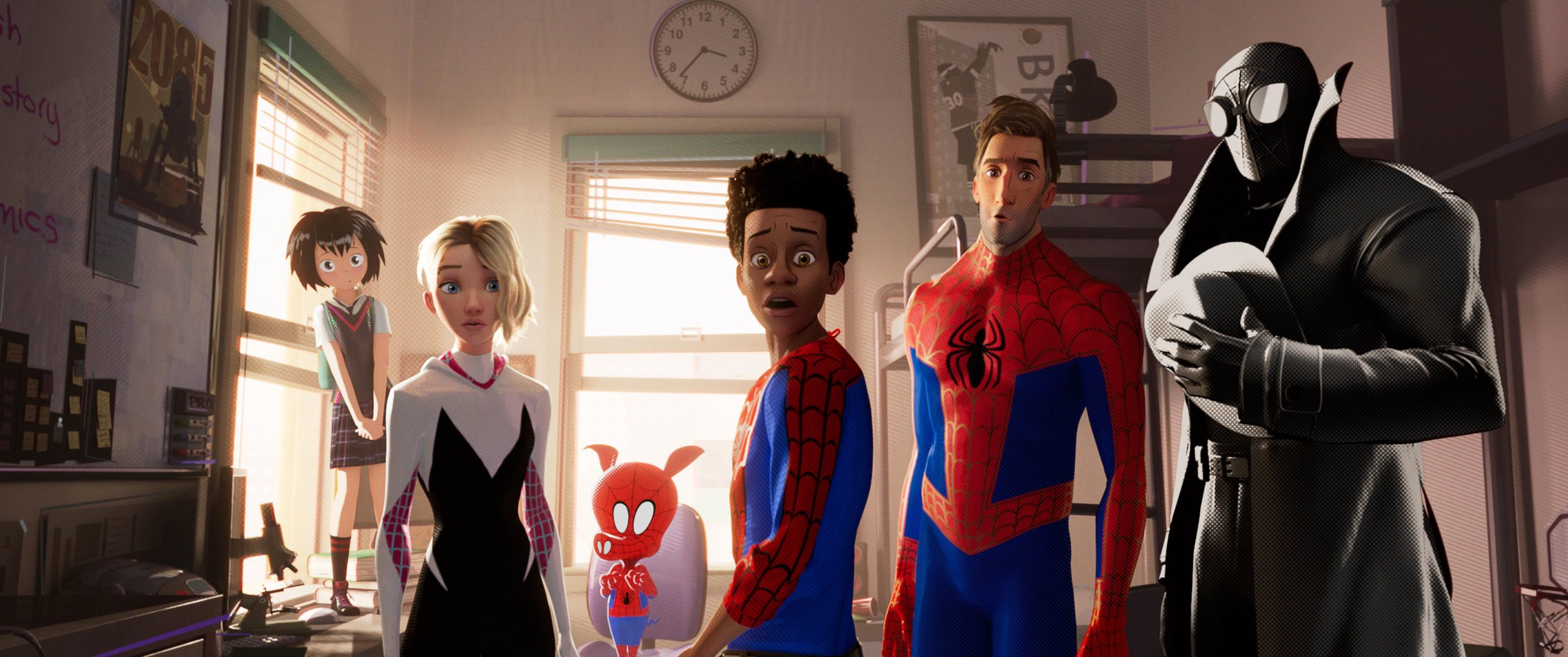 The late breaking 'Spider-Man' animated movie has positive buzz