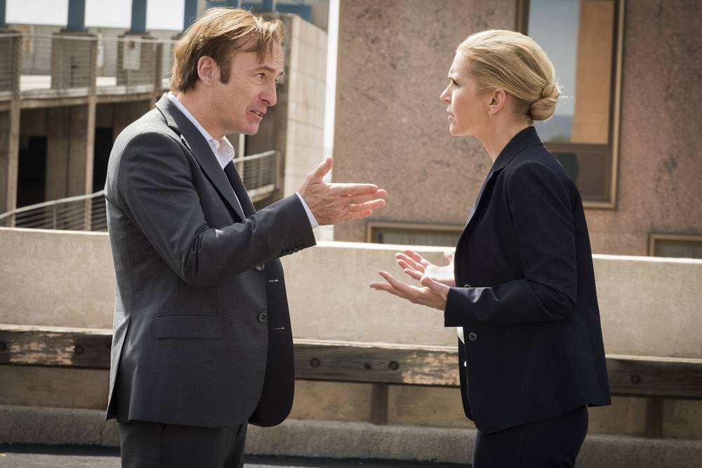 The fourth season is steeped in anguish and dread, as Bob Odenkirk's Jimmy turns the corner to Saul officially and takes Kim with him. It just keeps getting better (or worse) for the untethering of our character's moral coils.