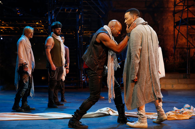 The most successfully staged live musical on TV yet, with electric performances from John Legend, Sara Bareilles and Brandon Victor Dixon. High energy all around