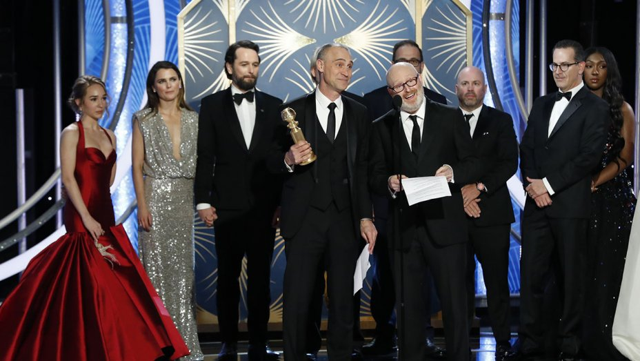 The Americans  wins its first and last Globe- the final award for its six year run