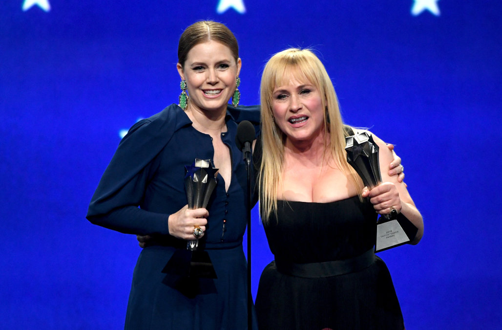 Amy Adams and Patricia Arquette tie for Best Actress in a Limited Series