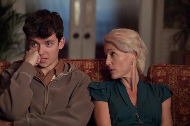 Awkward mother-son talk