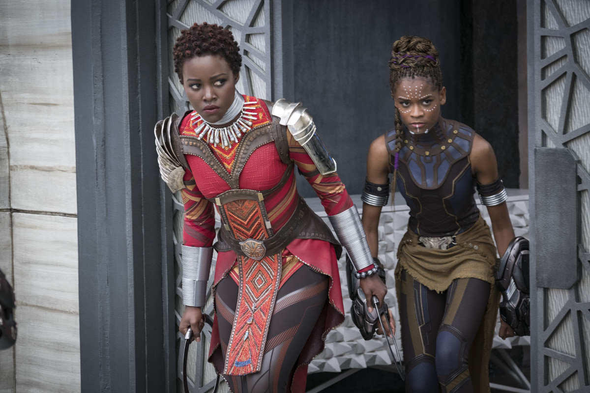 Costumes is between  Black Panther  and  The Favourite