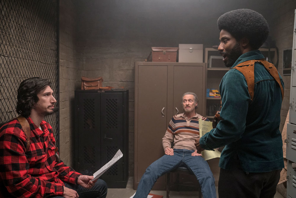 Rooting for Spike Lee to get his first Oscar as co-writer of  BlacKkKlansman