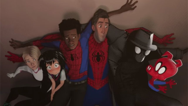 Lots of Spider-Men finally make for a different kind of superhero movie