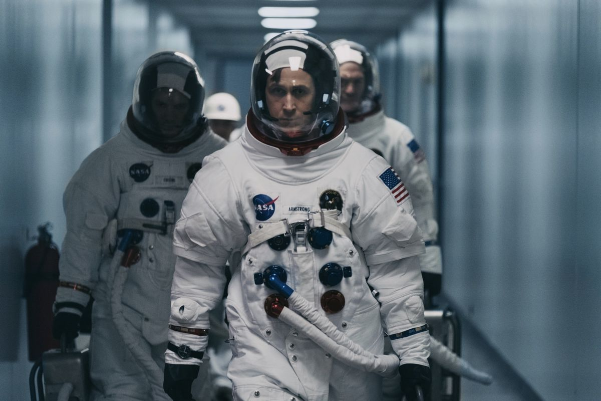 Neil Armstrong's walk on the moon is given the epic treatment in a serious minded, sensitive biopic that delivers a partial study of the enigmatic man himself, who always kept the world at a distance (literally). A majestic score assists some of the most thrillingly directed cinematic sequences of the year.