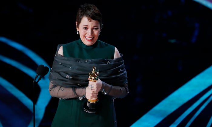 The biggest upset of the night was Olivia Colman beating out Glenn Close for Best Actress- no one saw that coming, not even her