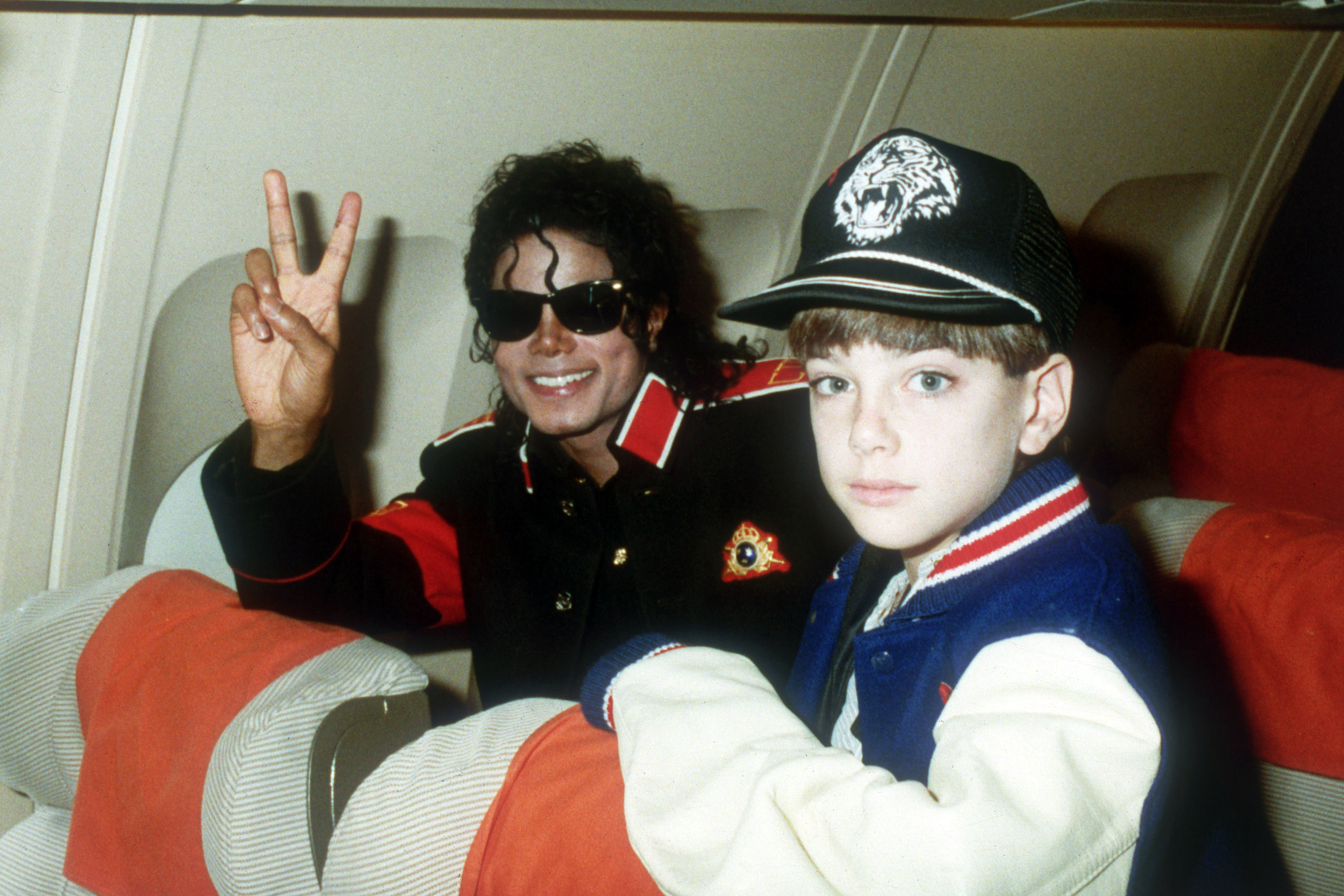 Michael Jackson with 10-year-old James Safechuck in the 1980's