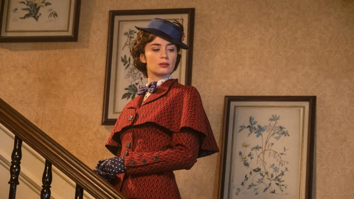 Emily Blunt makes up her own accent for a new Mary Poppins