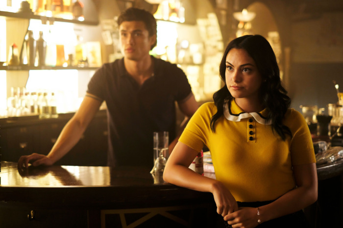 New couple Reggie and Veronica bring some intrigue to the insanity of  Riverdale