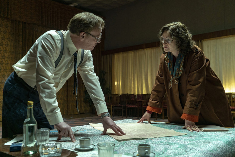 Scientists Jared Harris and Emily Watson map out the damage in the gripping  Chernobyl
