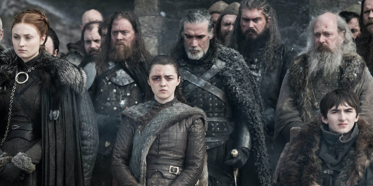 One more win for the road? Probably so, as  GOT  dominates the Emmy nominations, landing every acting nod it could despite widespread dissatisfaction with the final season. Oh well, you can't argue with its technical, cinematic quality at least. Just no wins for the writing, please.