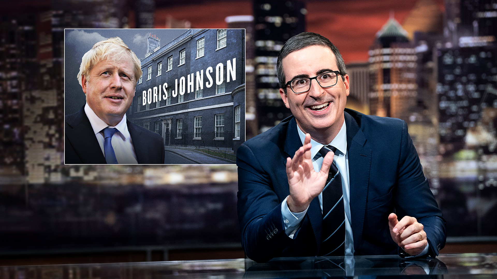 John Oliver skewers his home country's new prime minister