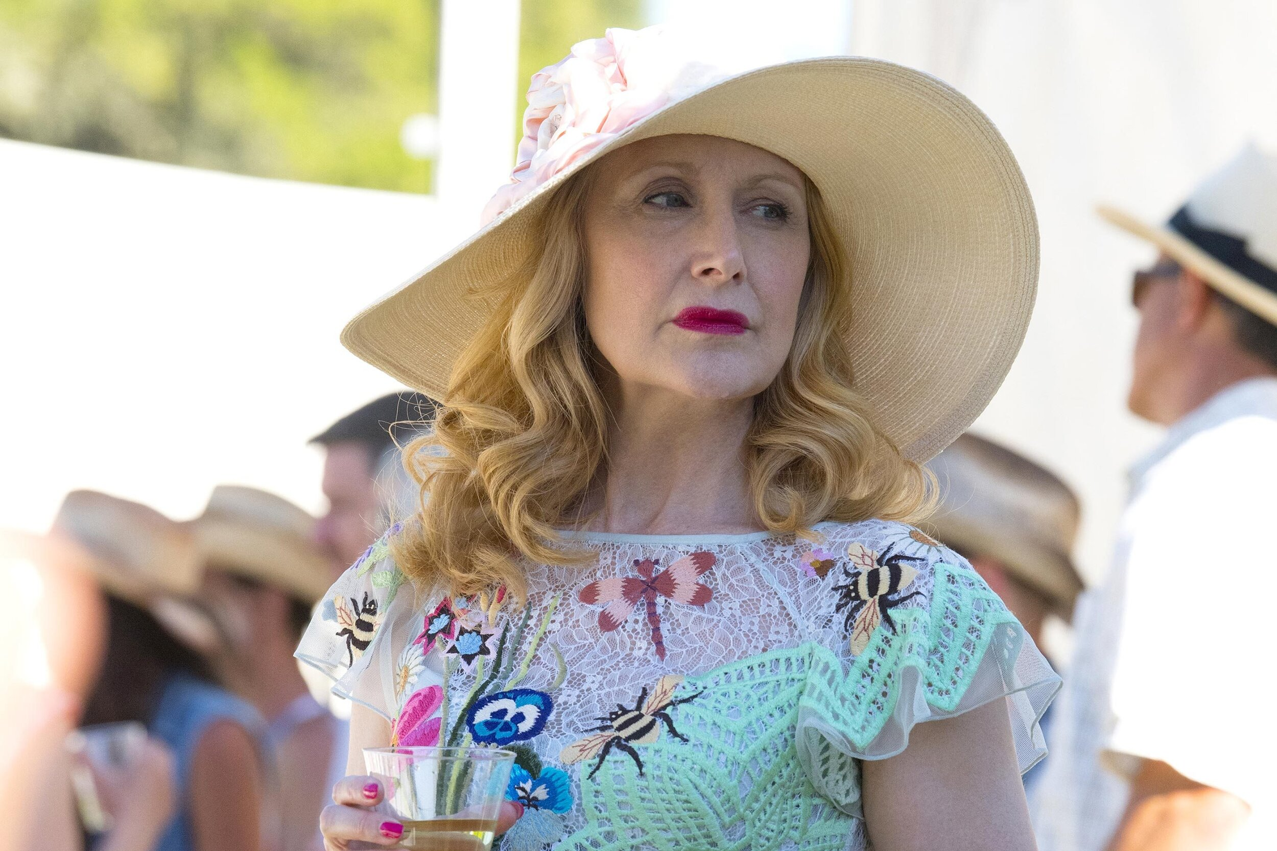 Patricia Clarkson's delectable evil in  Sharp Objects  should get her the win here