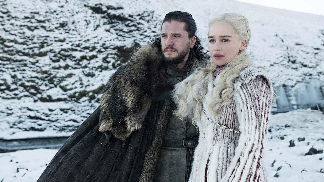 Jon Snow, Khaleesi and the iconic series says goodbye