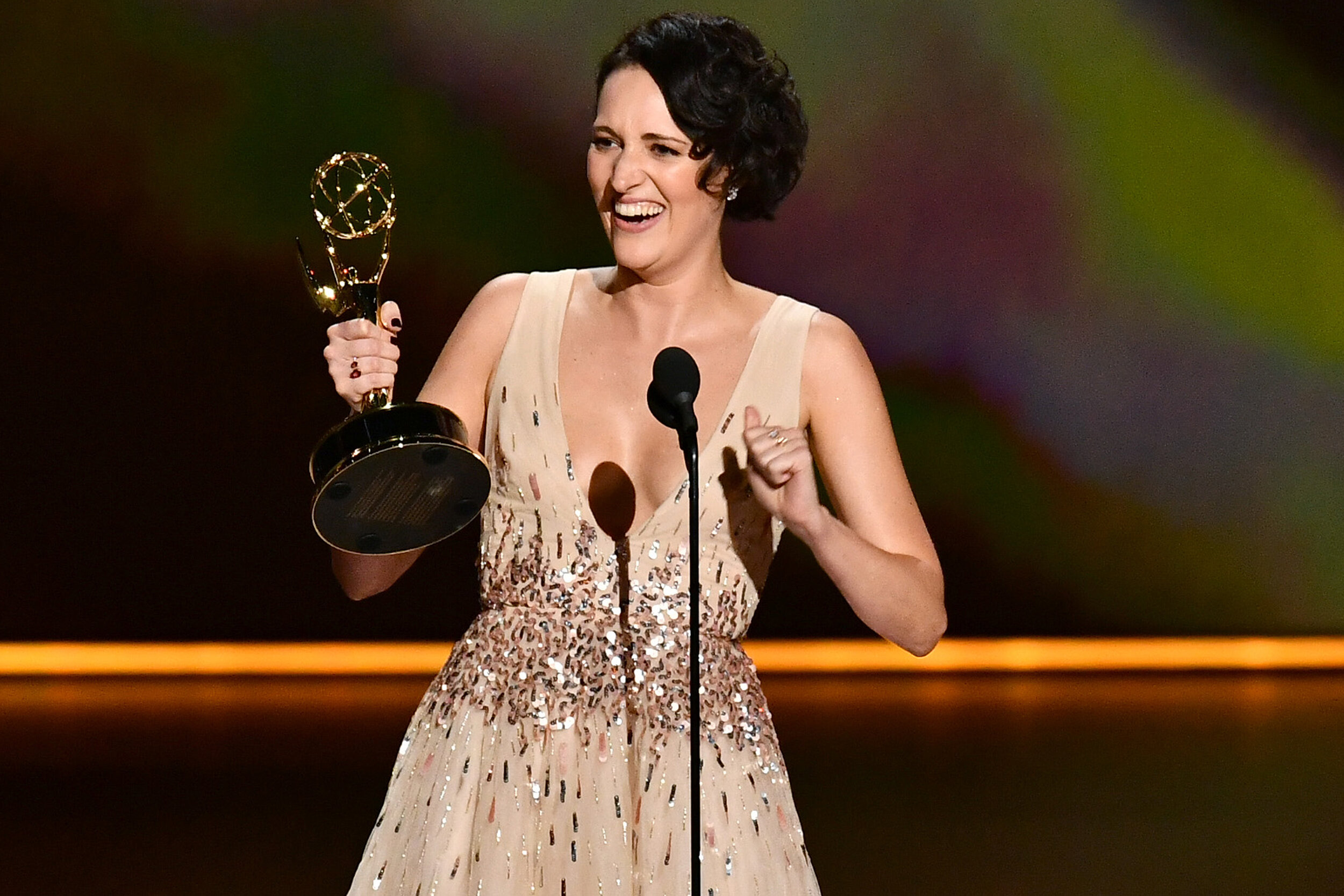 Fleabag  nearly swept in Comedy, taking home wins in series, directing, writing and lead acting, as Waller-Bridge denied Julia Louis-Dreyfus what would have been a history making seventh win for  Veep . Thrilled to see a show this good get the awards it deserves