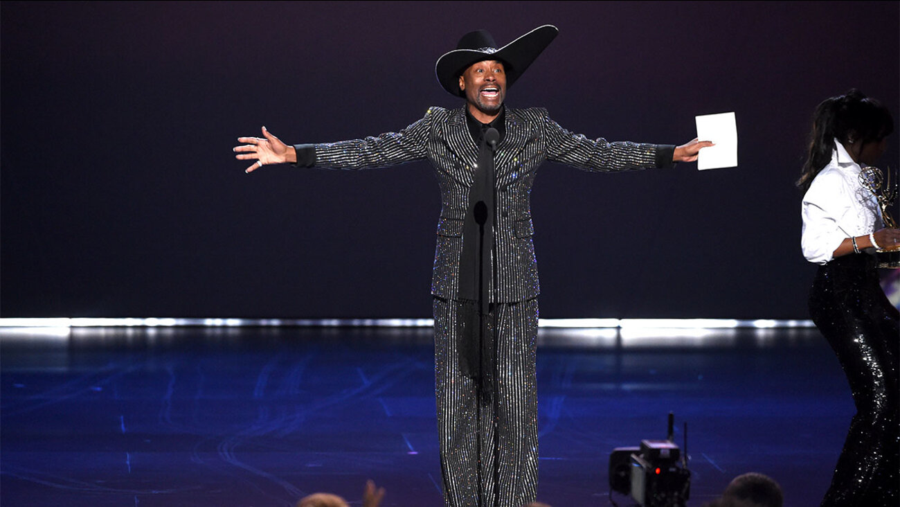 Billy Porter makes history as the first openly gay African-American man to win Lead Actor in a Drama Series for FX's  Pose