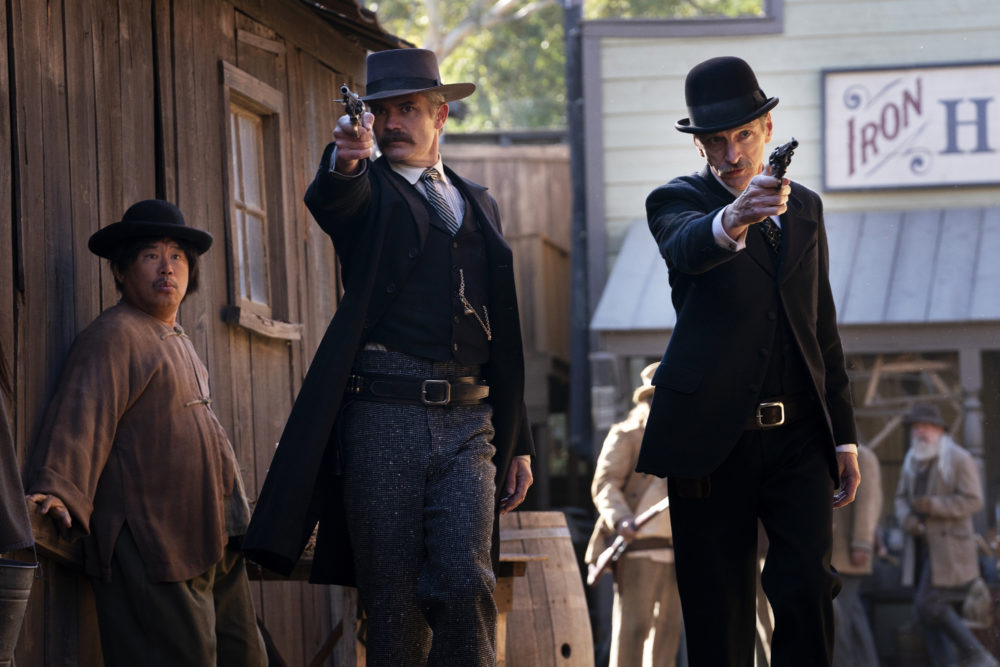 Revisiting Deadwood in a triumphant movie that serves as the series finale the show never got