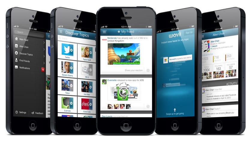 Wavii App V2 After Redesign