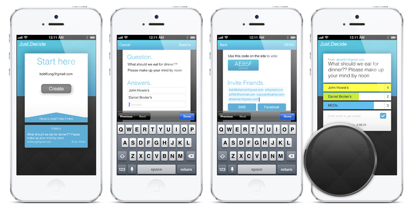Mobile View Design