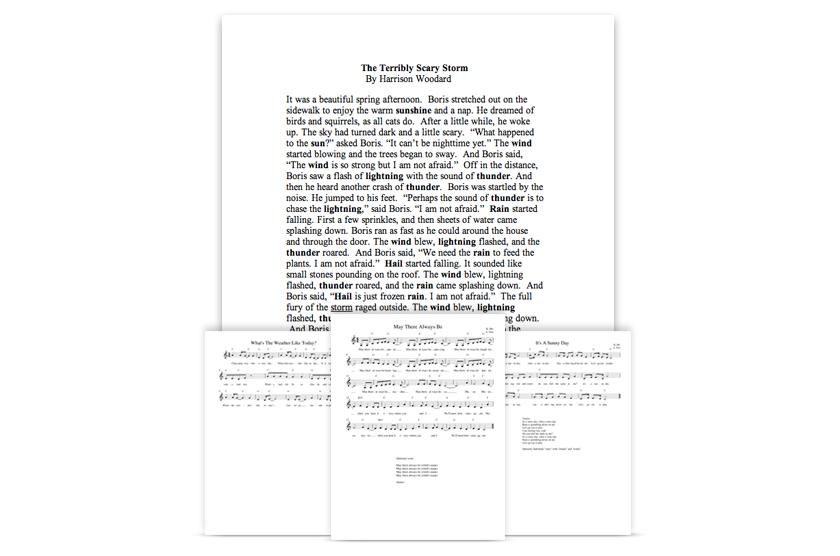 Original Music Scores & Lyrics