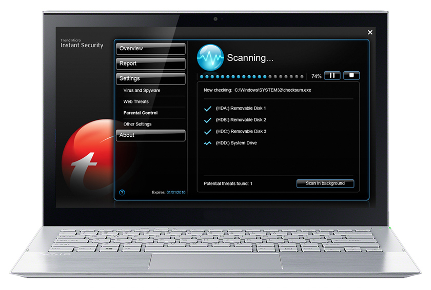 Instant On Security for Asus Express Gate