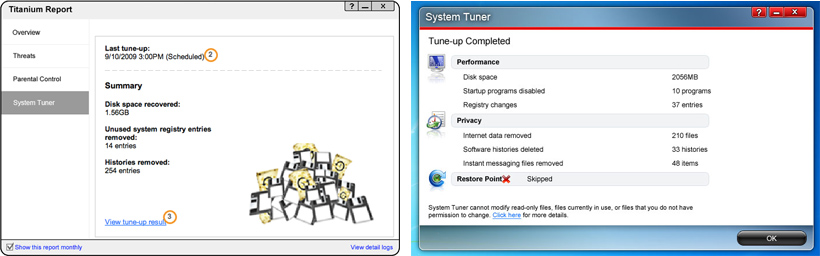 System Tuner Report