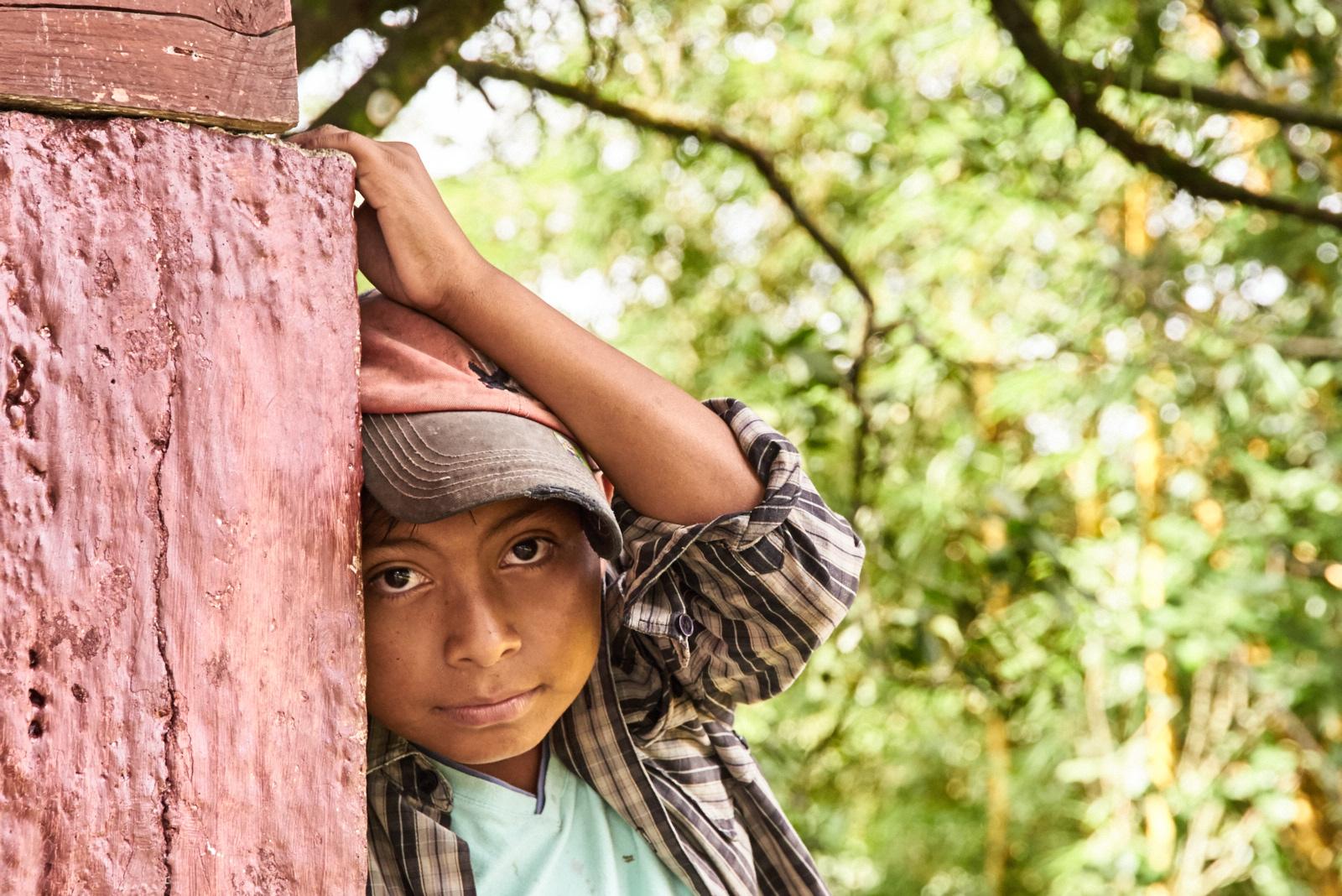 Kids in Nicaragua.