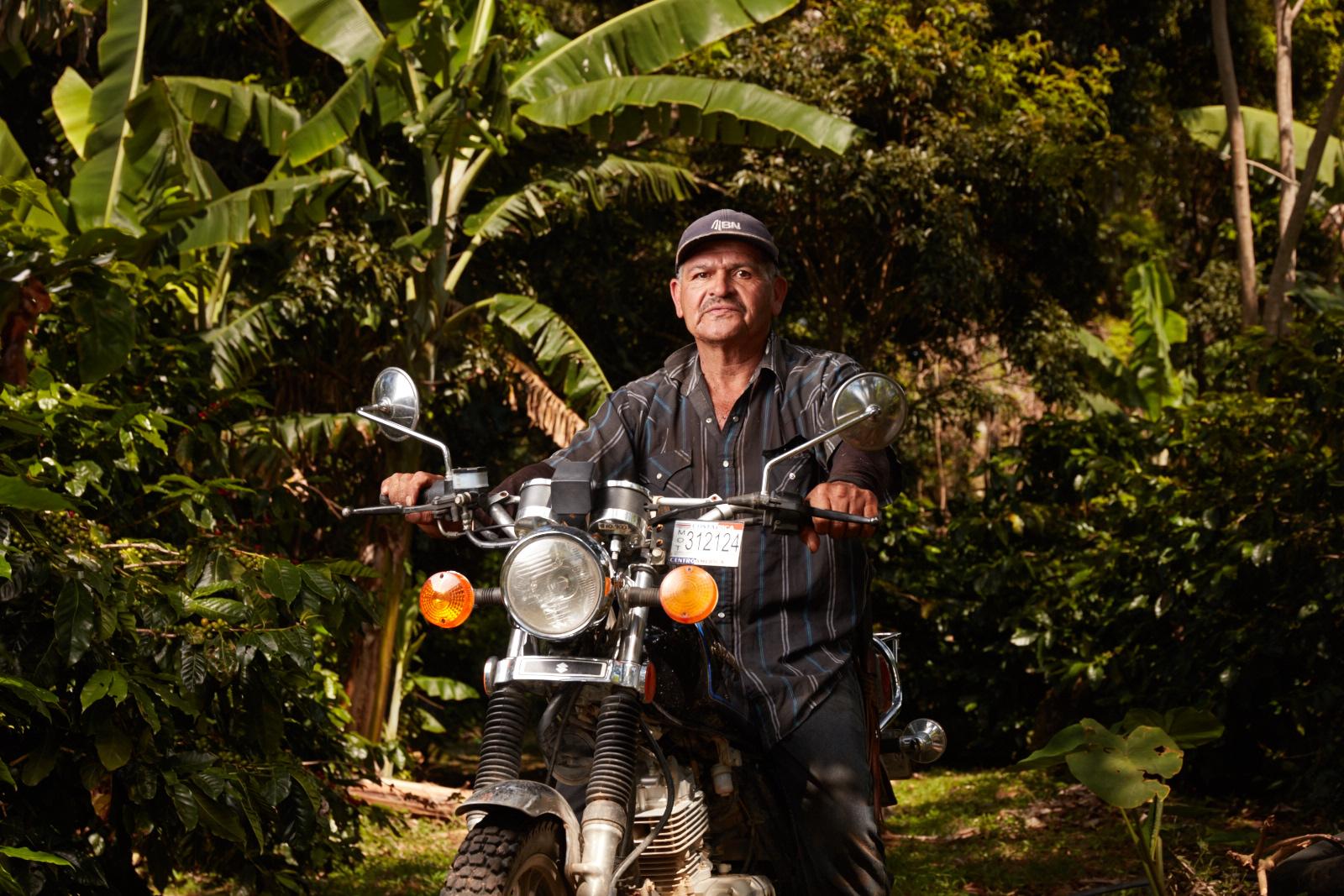 Coffee Farmer in Costa Rica.