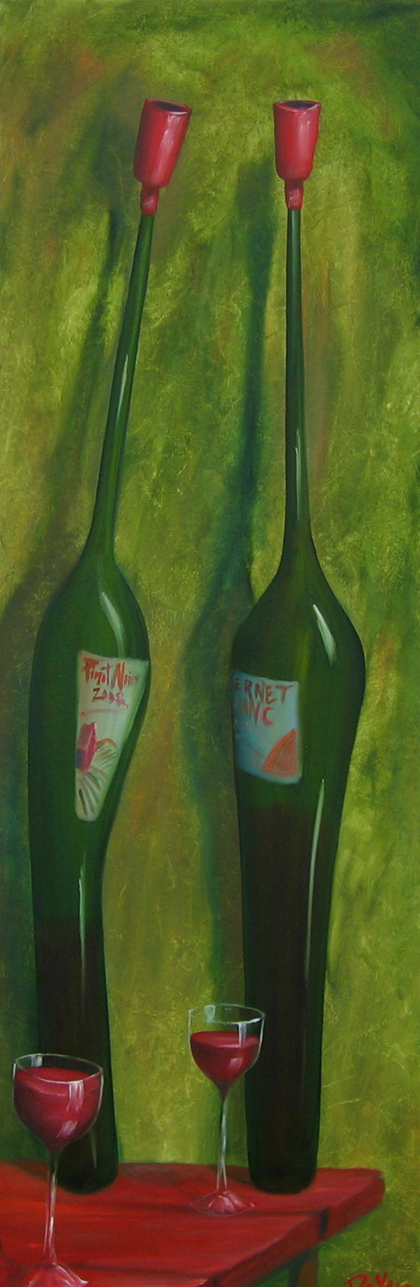Wine Green