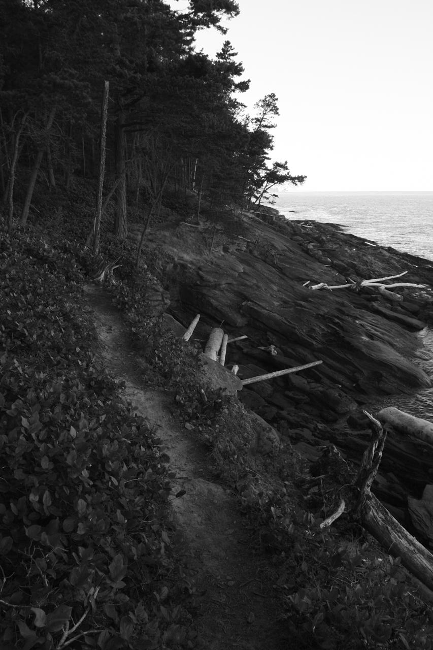 Trail on Mayne Is.