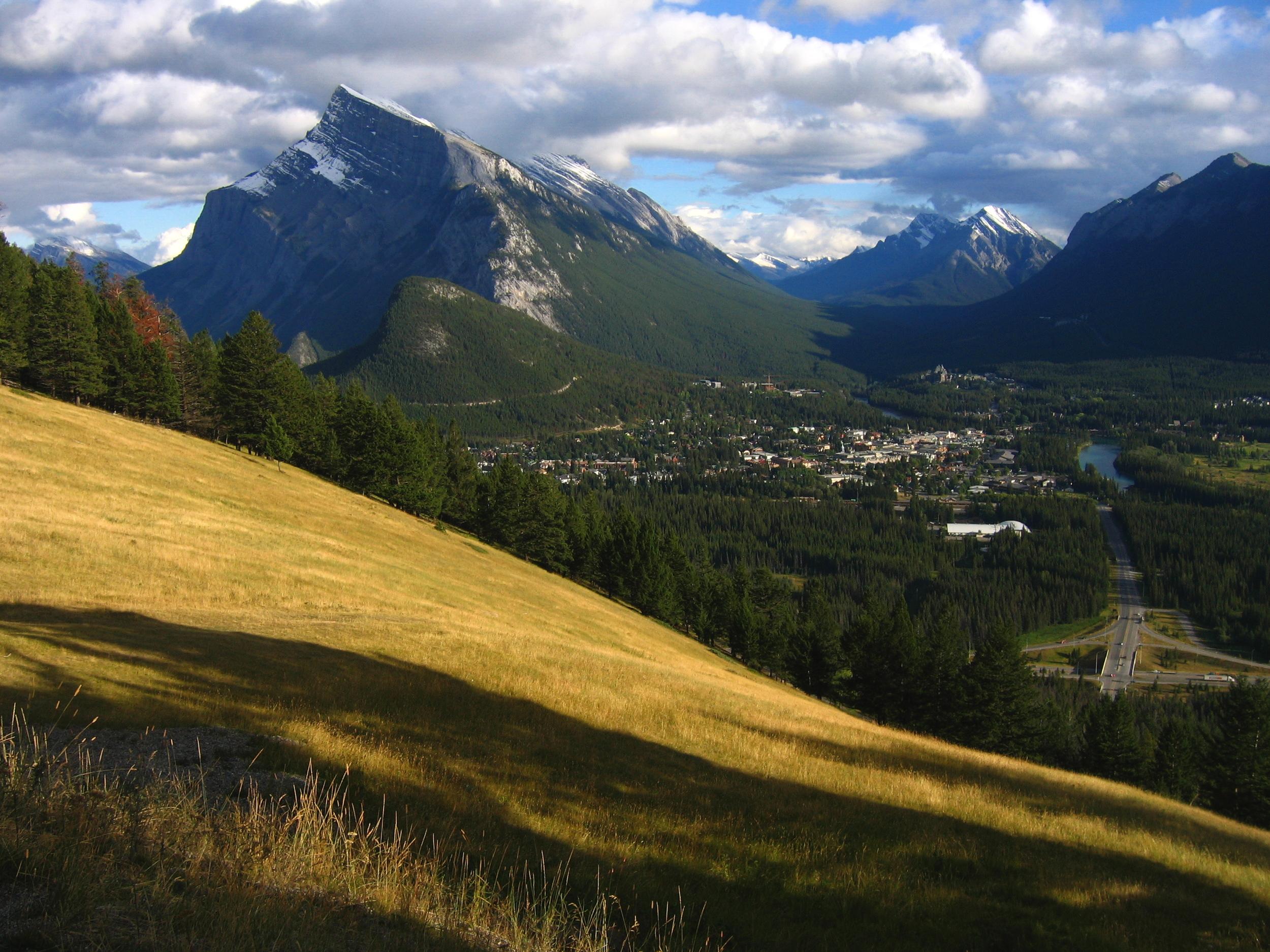 Side of Norquay, Banff