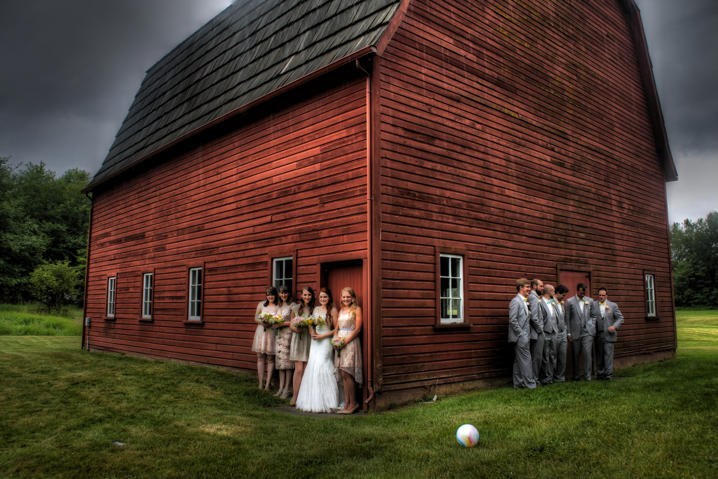 Red Barn Wedding 3