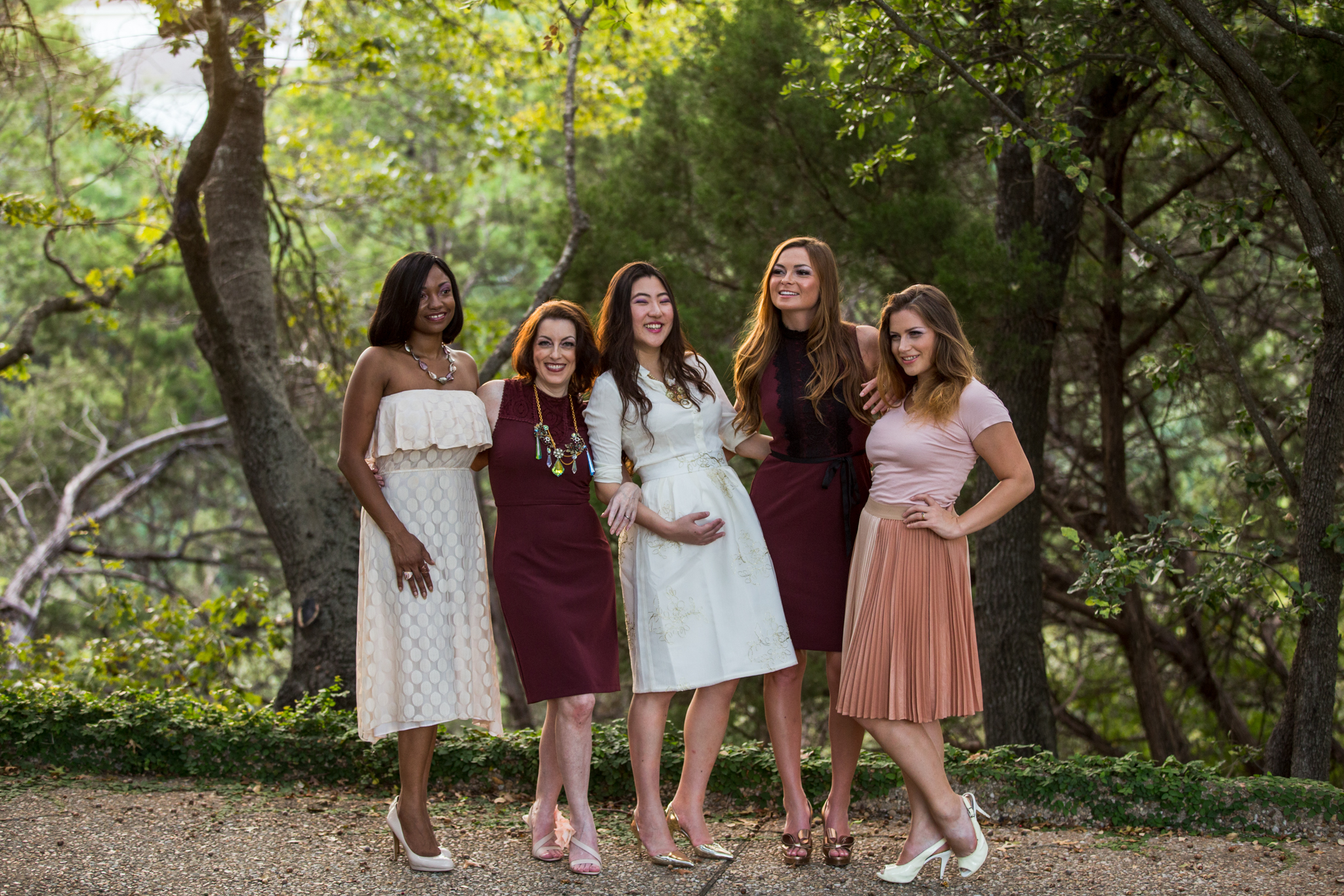 This great group of models from central Texas were awesome to work with. On location in Georgetown.