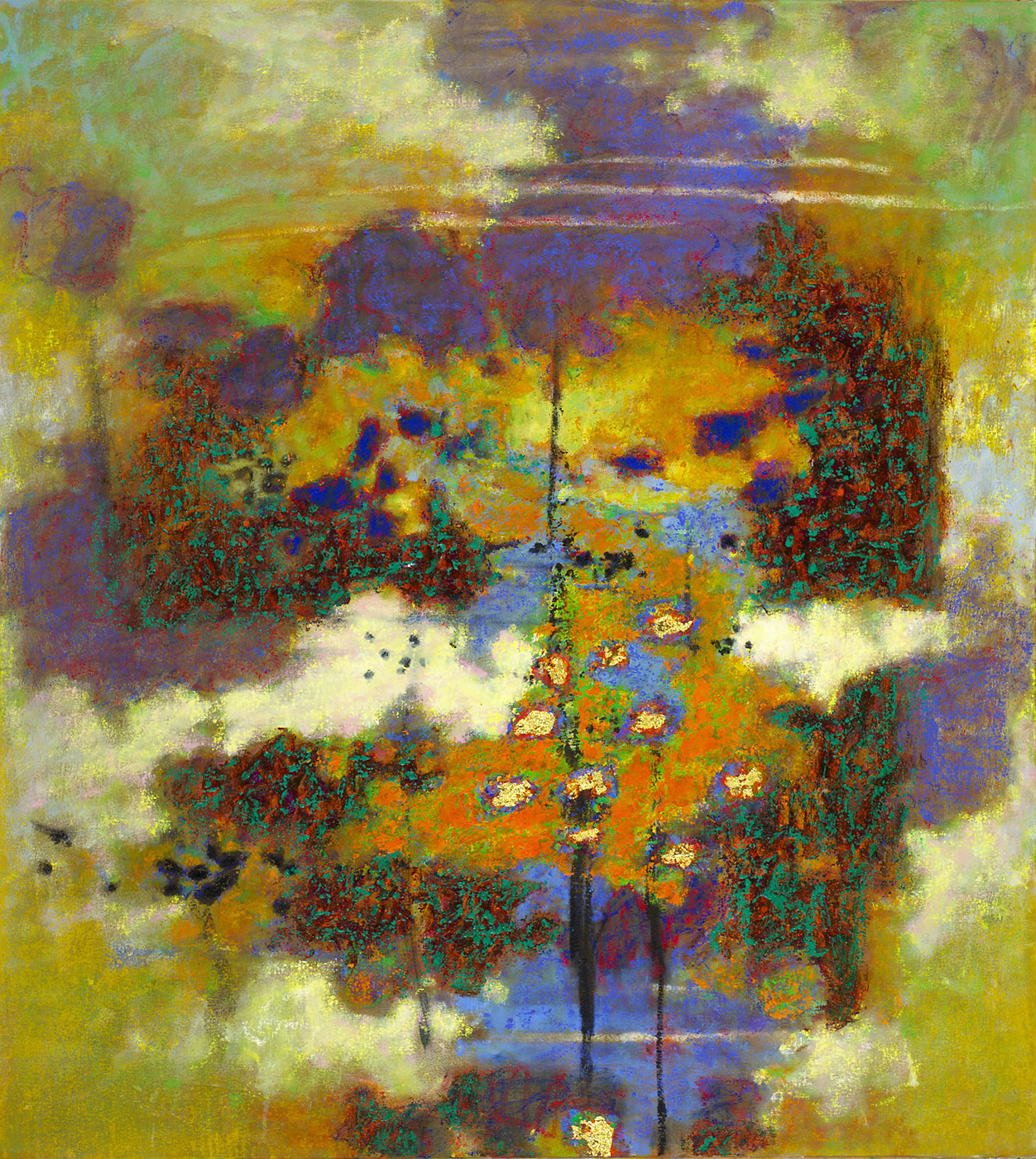 Encompassing Whole   | oil on canvas | 40 x 36"