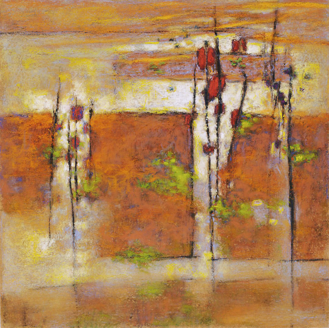 Emergence   | pastel on paper | 14 x 14"