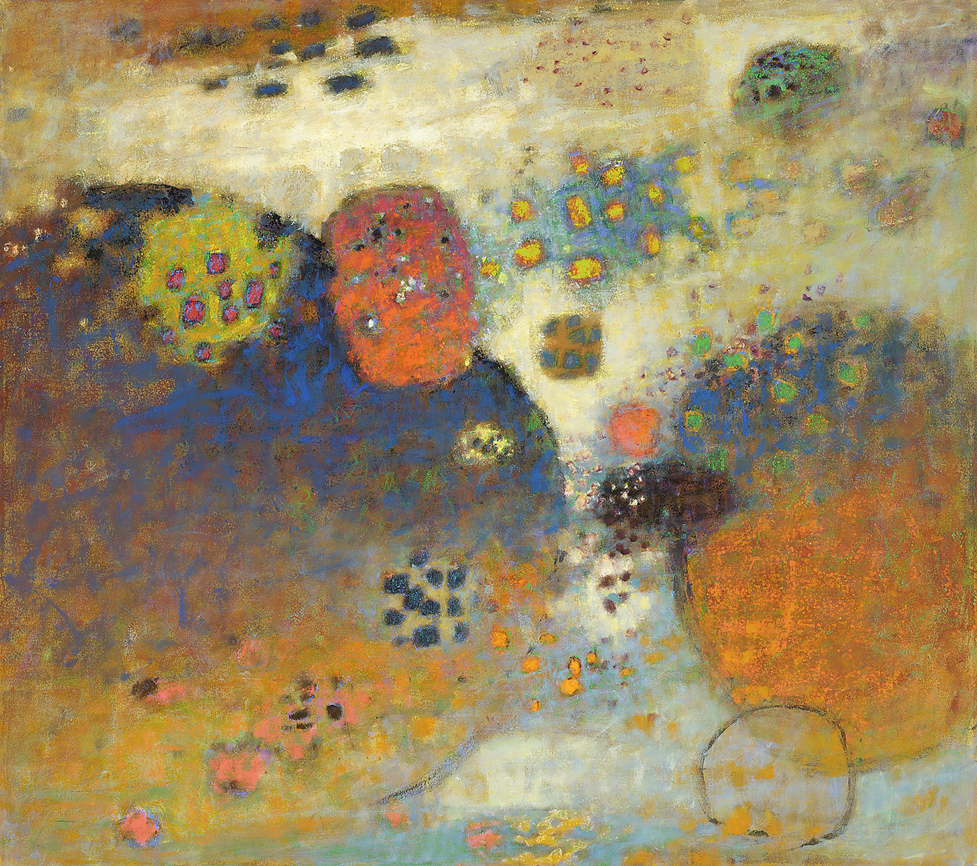 Probabilities   | oil on canvas | 48 x 54"