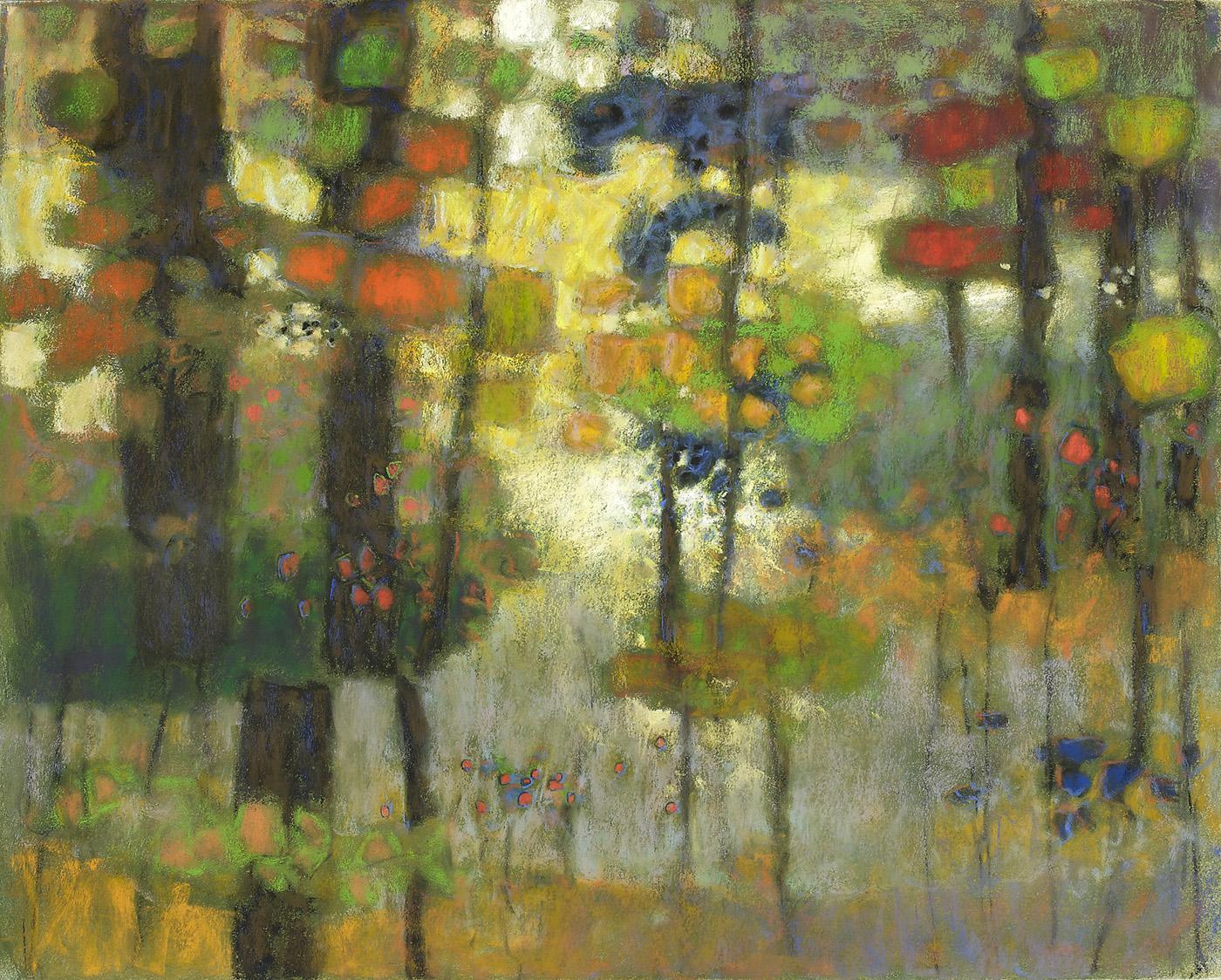 "Where Spirits Dwell   | pastel on paper | 24 x 30"" | 2010"