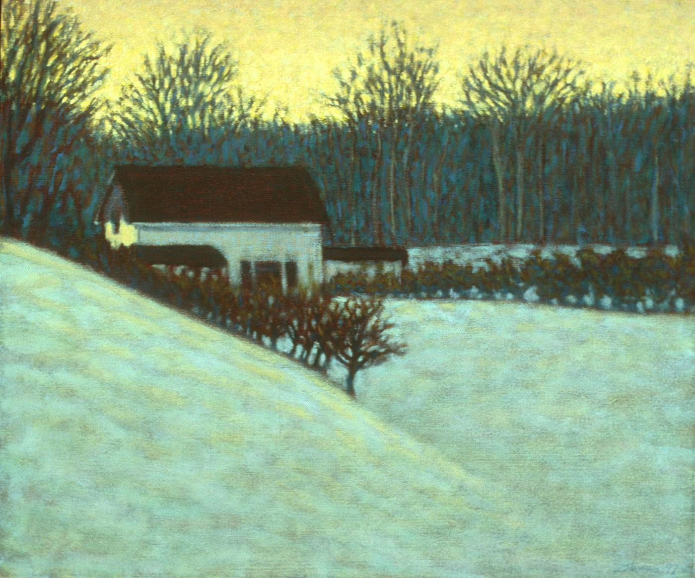 "18-97   | oil on canvas | 20 x 24"" | 1997"