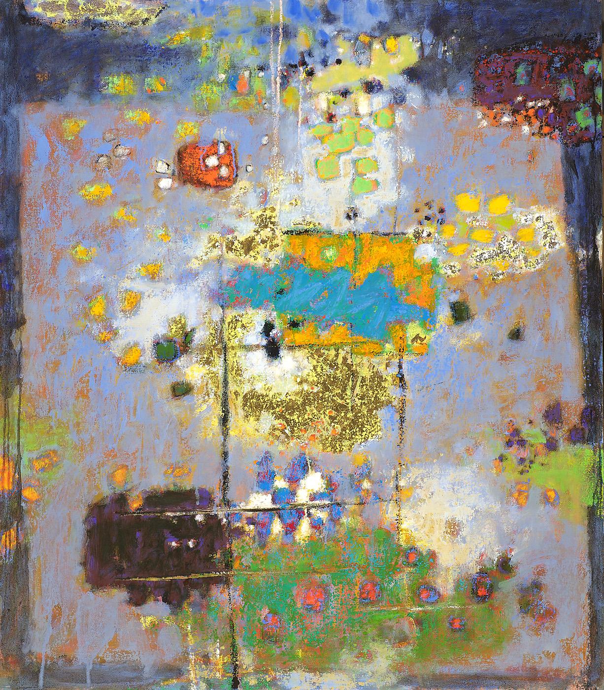 "Quantum Jazz   | oil on canvas | 48 x 42"" | 2011"