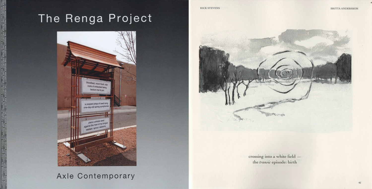 Rick's work featured in Axle Contemporary's  Renga Project