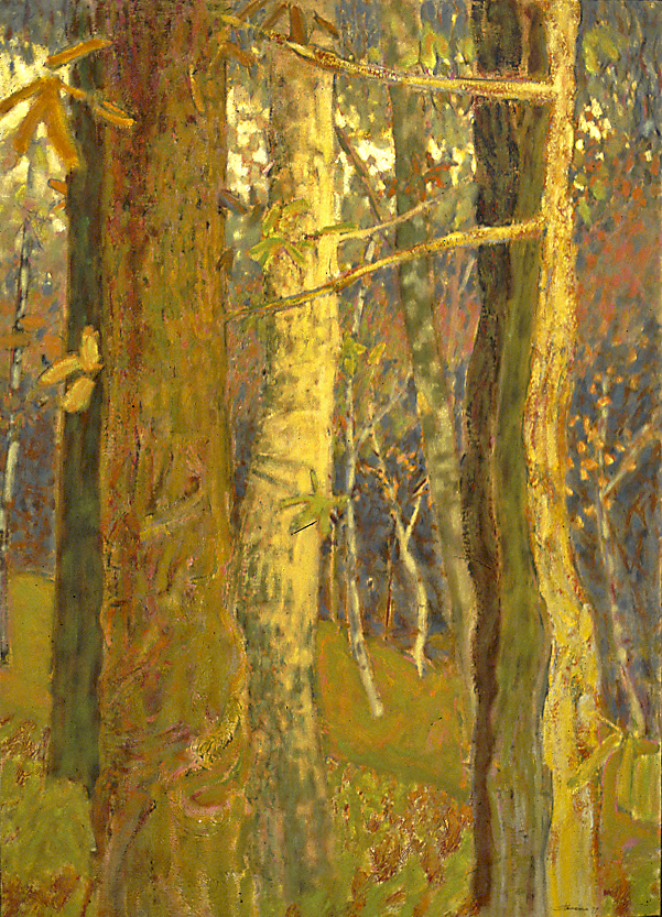 I Am the Forest   | oil on canvas | 49 x 35"