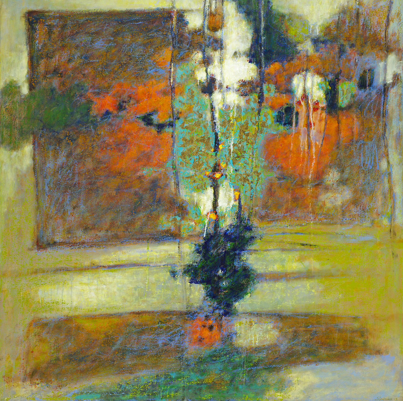 Unfolding   | oil on canvas | 40 x 36"