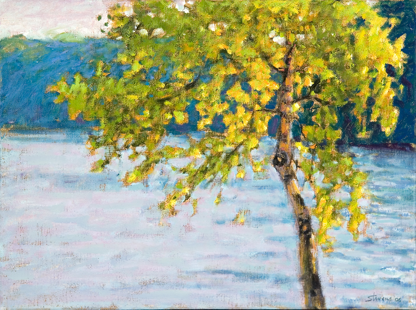 Tippy Pond   | 12 x 16"