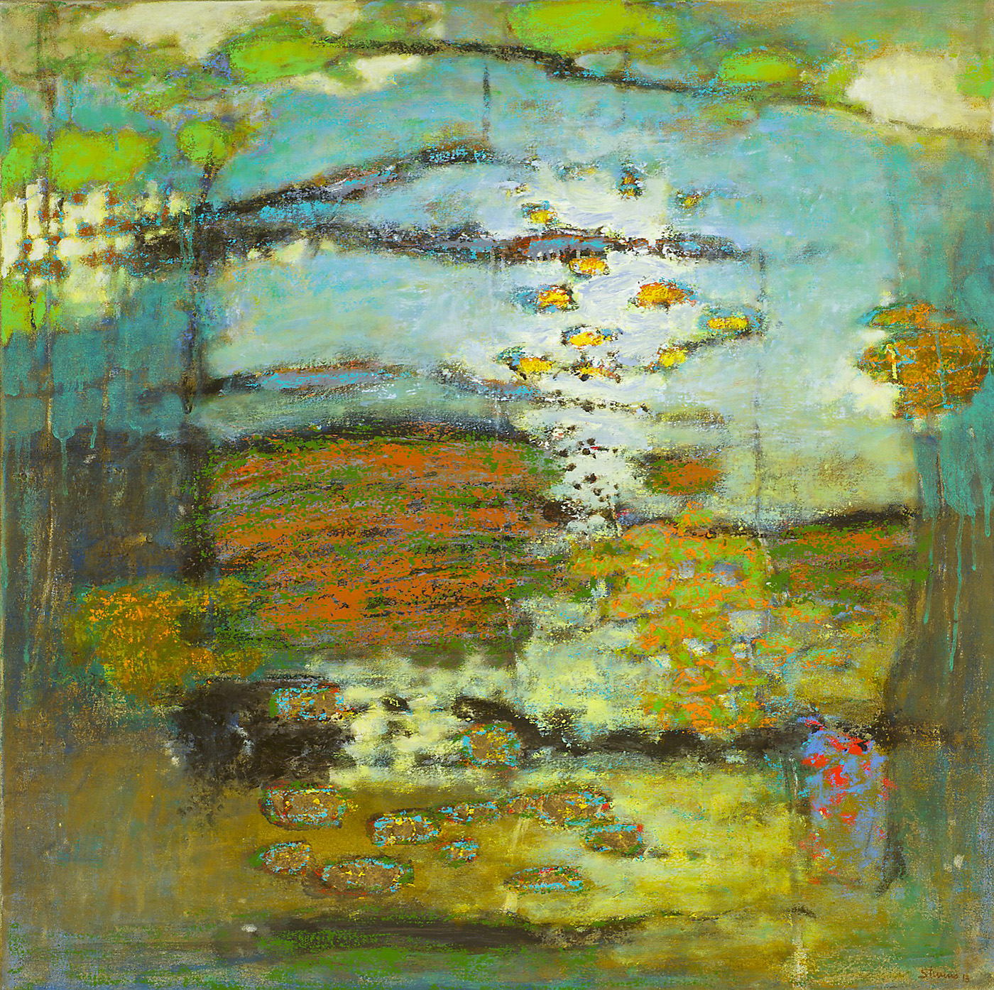 """Emanating Earth and Sky   