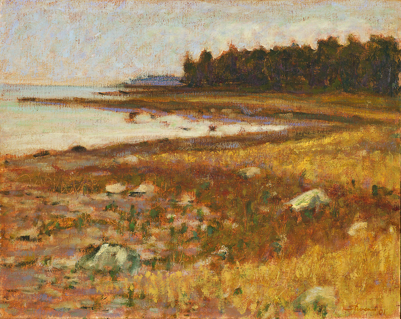 Indian Point   | oil on panel | 12 x 15"