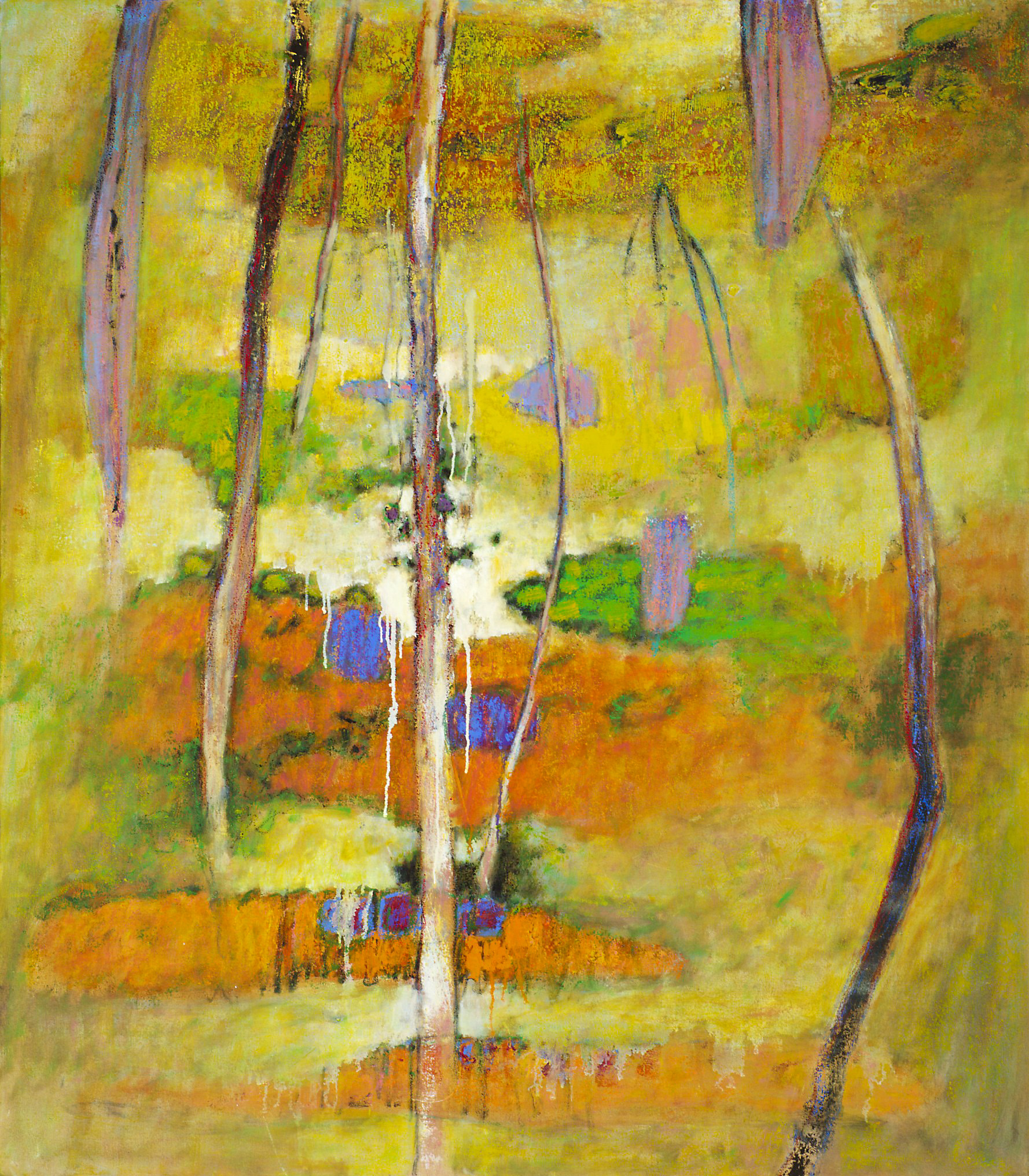 Paradise Lost   | oil on canvas | 55 x 48"