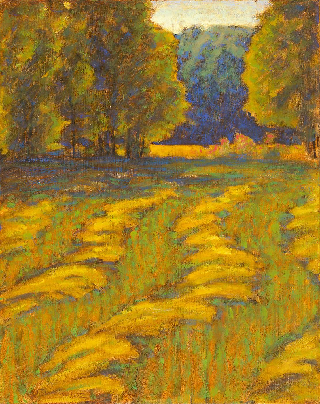 "73-02   | oil on canvas | 15 x 12"" | 2002"