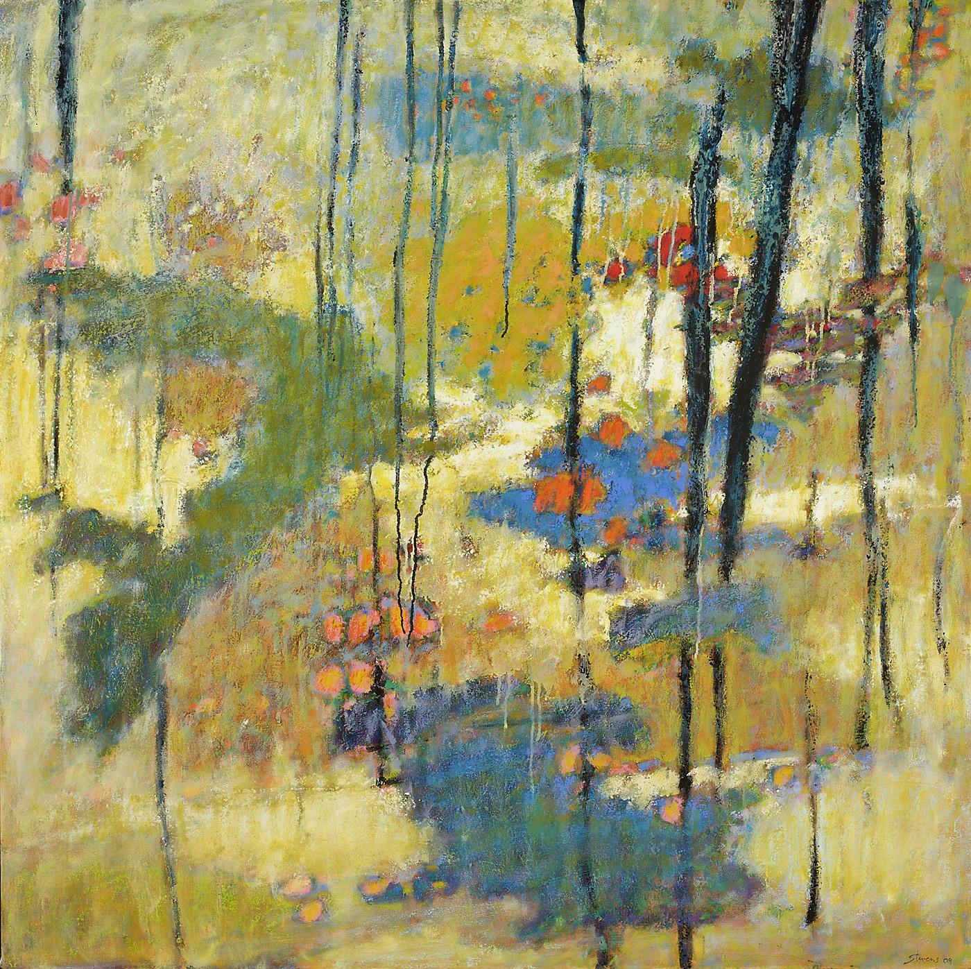 """Soft Light, Secret Spaces     oil on canvas   48 x 48""""   2009"""