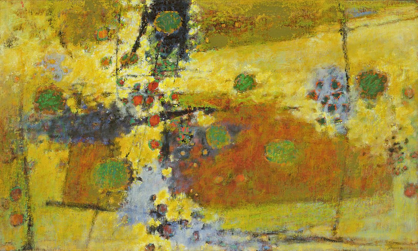 "Under the August Sun   | oil on canvas | 30 x 50"" | 2010"